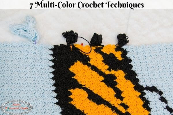 Learn How to Multi-Color Crochet Techniques