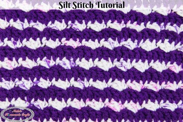 Silt Stitch Crochet Tutorial