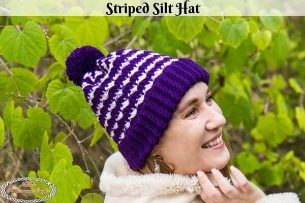 Striped Silt Crochet Hat Pattern