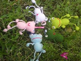 happy animals pattern