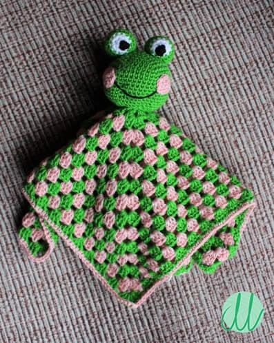 Little Frog Baby Blanket