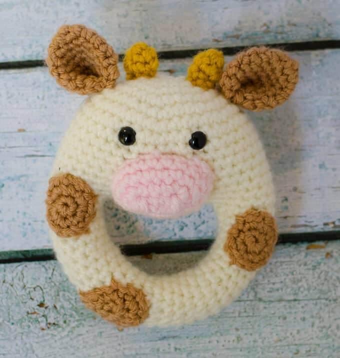 Crochet Cow Rattle
