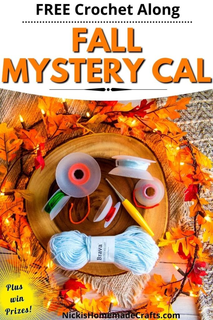Crochet Fall Mystery CAL - Padrão Grátis