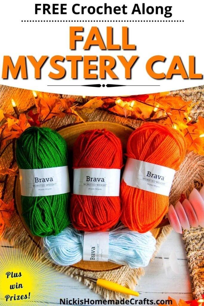 Crochet Fall Mystery CAL Free Pattern
