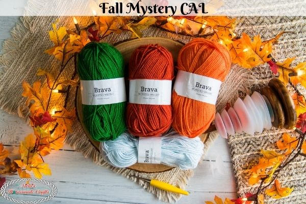Fall Mystery Crochet Along – Fun, Easy & Free Pattern using Worsted Yarn