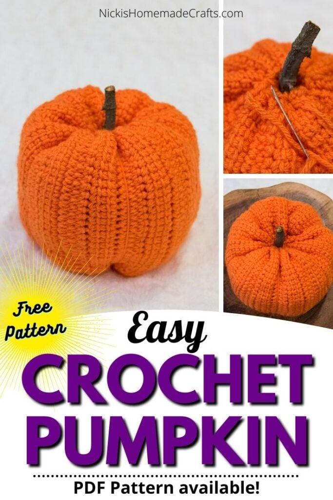 Easy Crochet Pumpkin Pattern