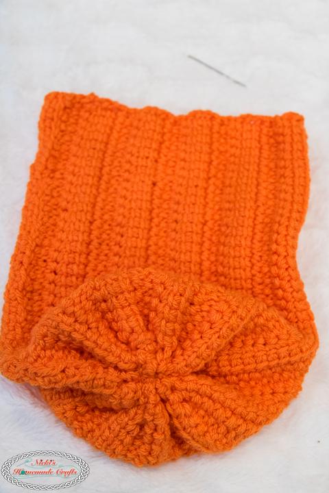 Large Crochet Pumpkin Pattern sewing