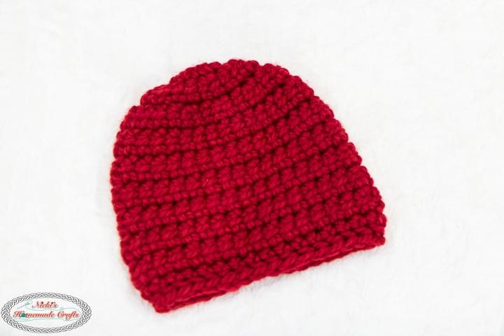 Linked Crochet Beanie Pattern