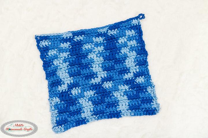 Linked Crochet Dishcloth Pattern