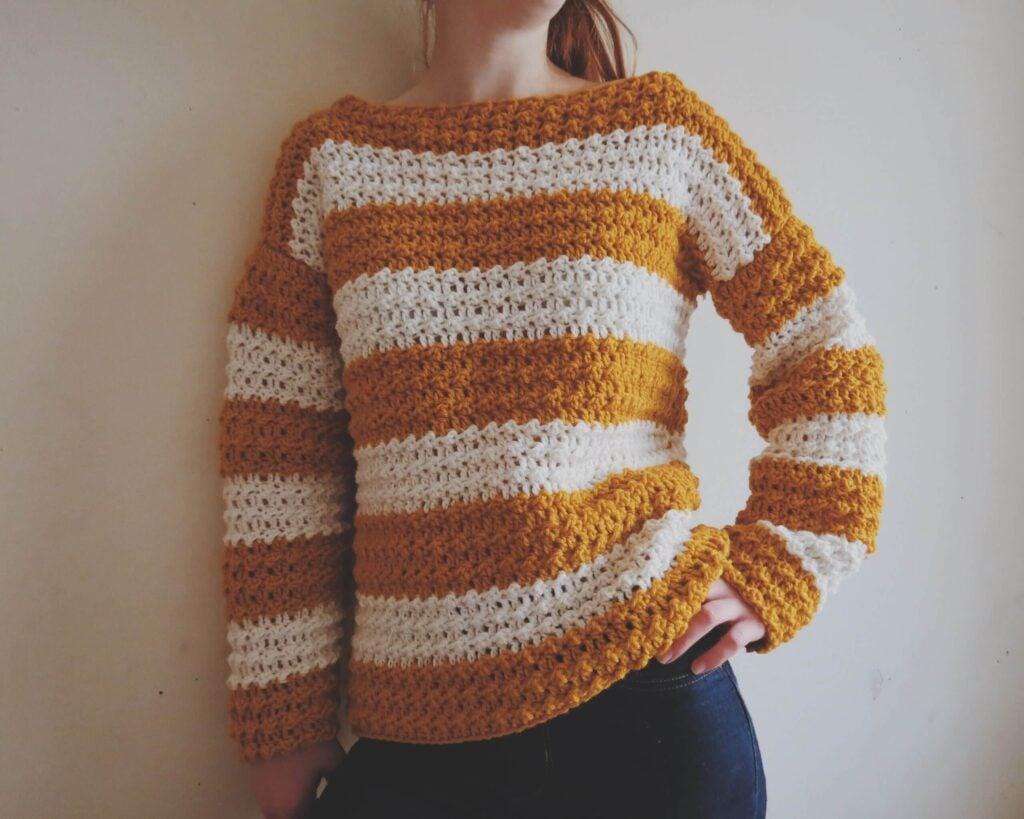 Crochet Fall Sweater