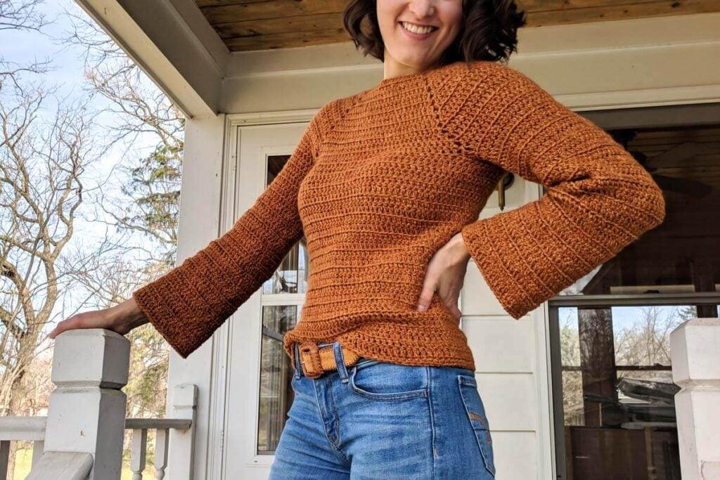 Easy Crochet Raglan