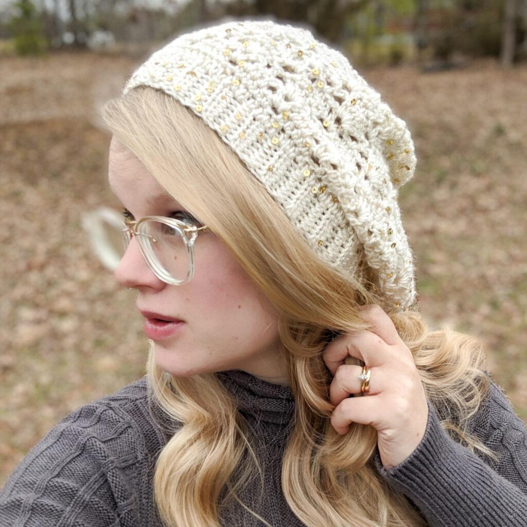 San Fior Slouch Crochet Hat