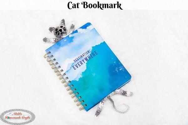 Crochet Cat Bookmark Pattern Free