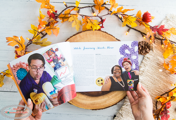 The Crochet Crowd Book Review Mikey's story