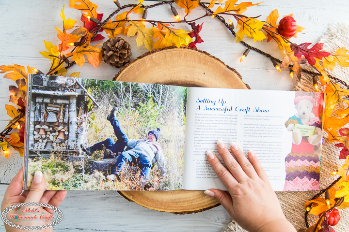 The Crochet Crowd Book Review - craft show prep