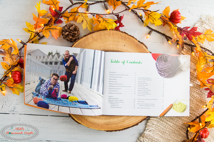 The Crochet Crowd Book Review - table of content