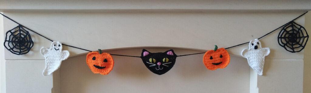 Halloween Crochet Garland Pattern